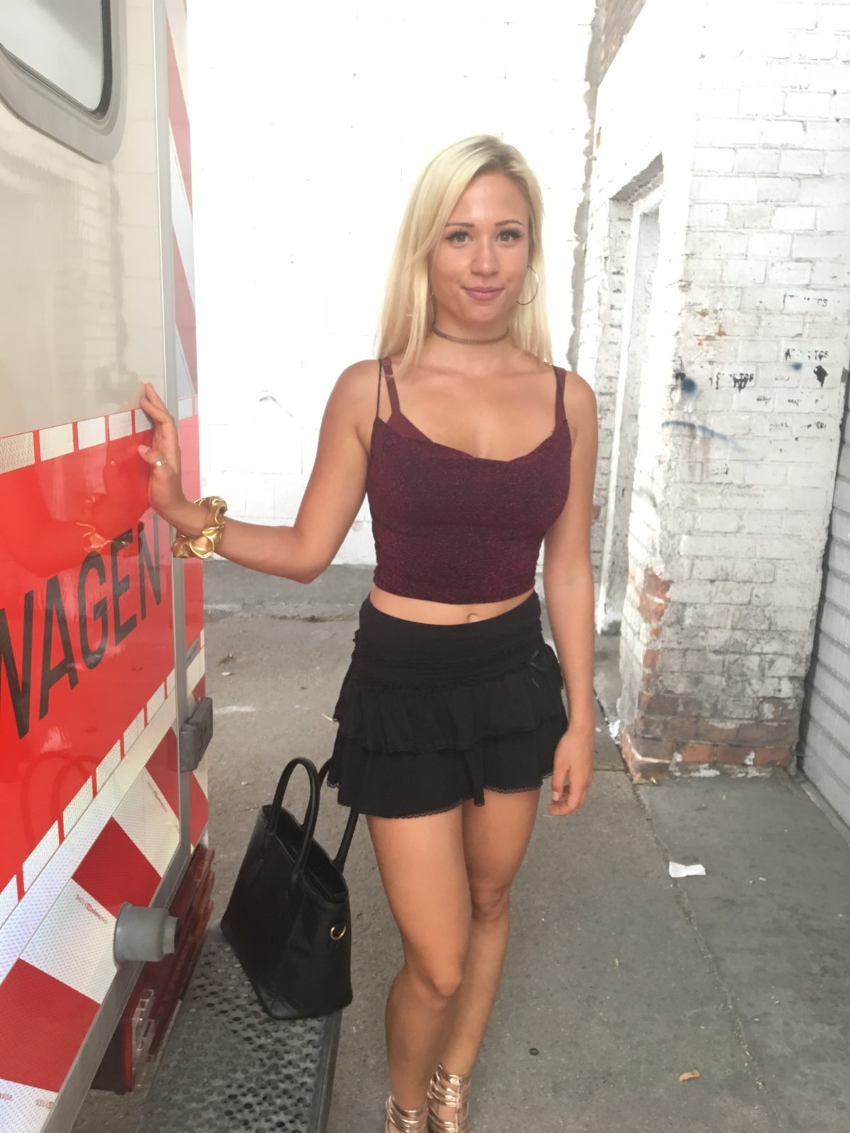 German Scout Gabi Gold Porno